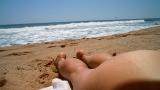 Η Φίλη Μας Η Λευκωσιάτισσα Στην Παραλία :)